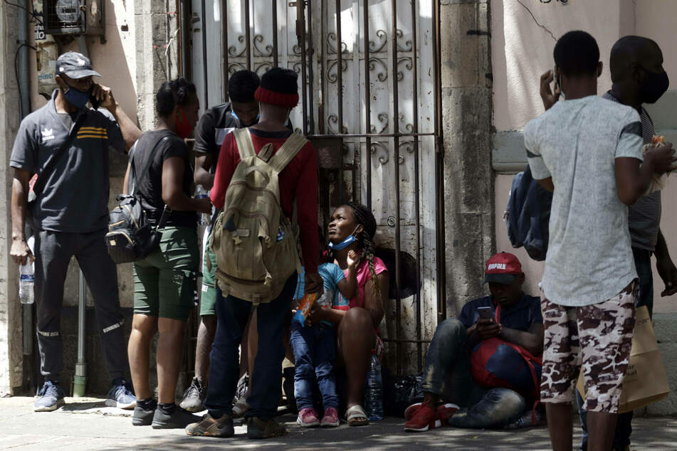 Some Haitians are requesting legal asylum to remain in Mexico.