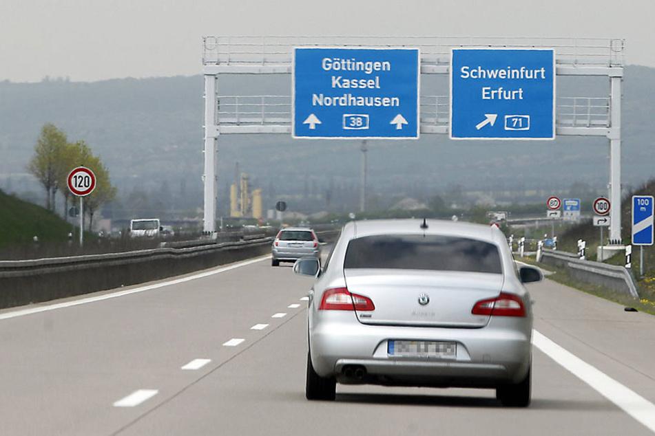 An der A38 in Thüringen sind die ersten Raststätten entstanden