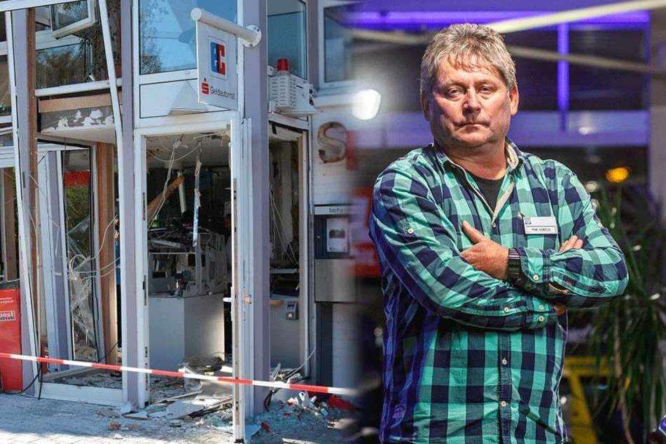 Automaten-Sprengung: Nach dem Raubzug tauchte der Fluchtwagen jetzt wieder auf