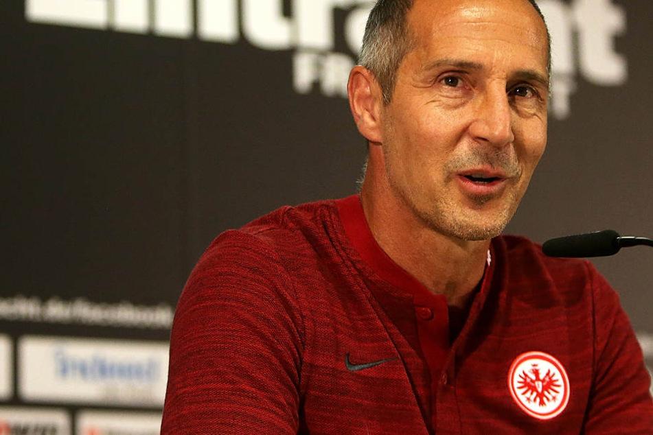 Adi Hütter (Archivbild) wünscht sich Spieler mit Biss.