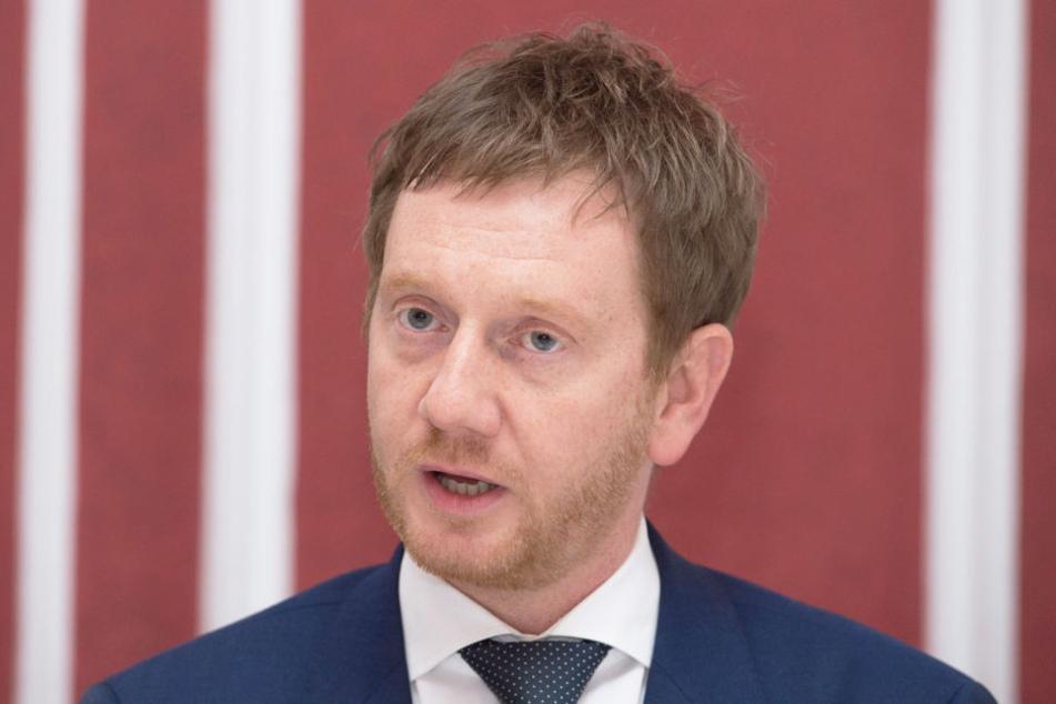 Michael Kretschmer (CDU, 42), Generalsekretär der Sächsischen Union.
