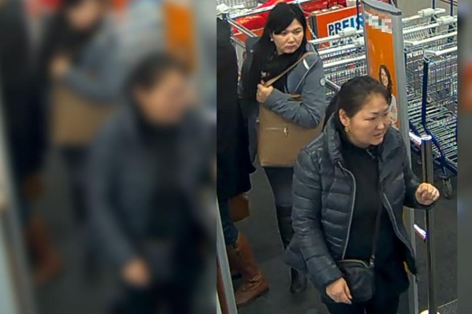 Die Polizei ist auf der Suche nach diesen beiden Frauen.
