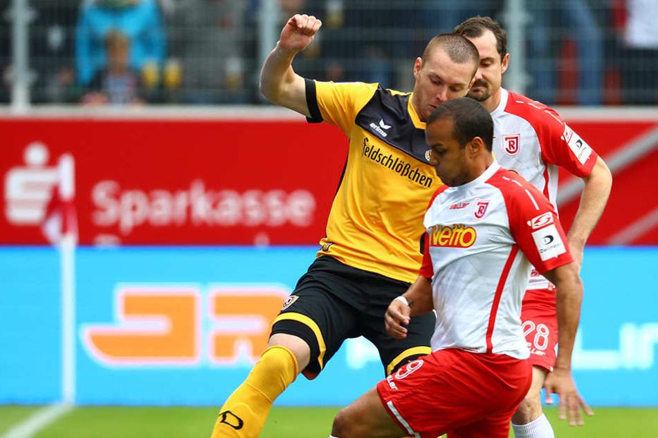 Haris Duljevic gehörte wie schon gegen Greuther Fürth zu den Besten im schwarz-gelben Trikot.