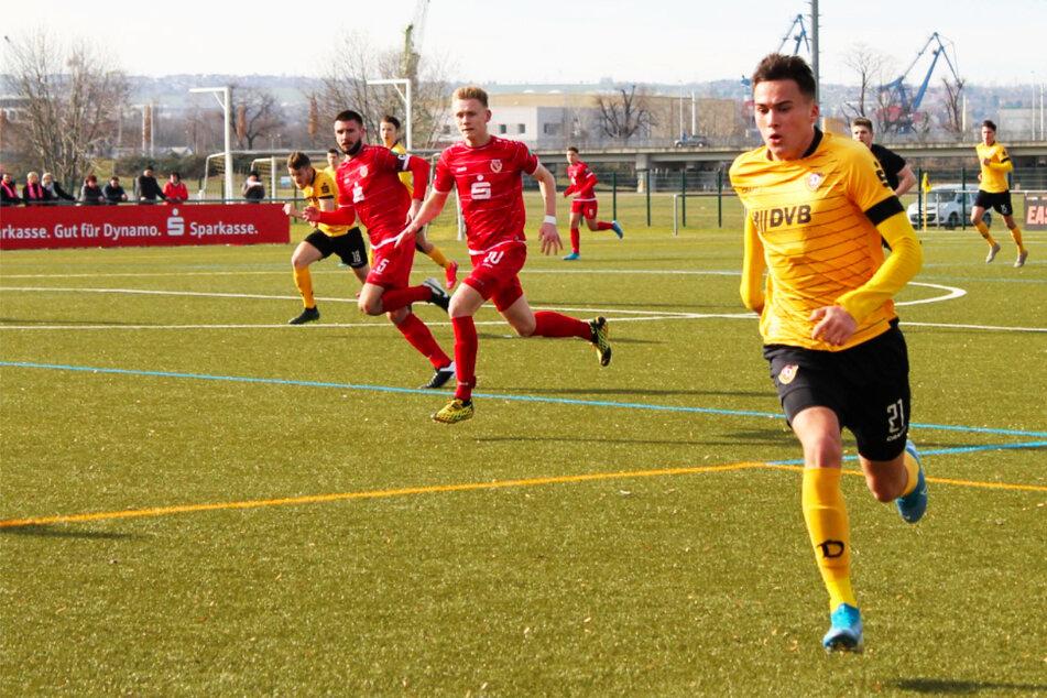 Dynamo-Leihgabe Simon Gollnack erzielt sein erstes Profitor für den FK Usti nad Labem!