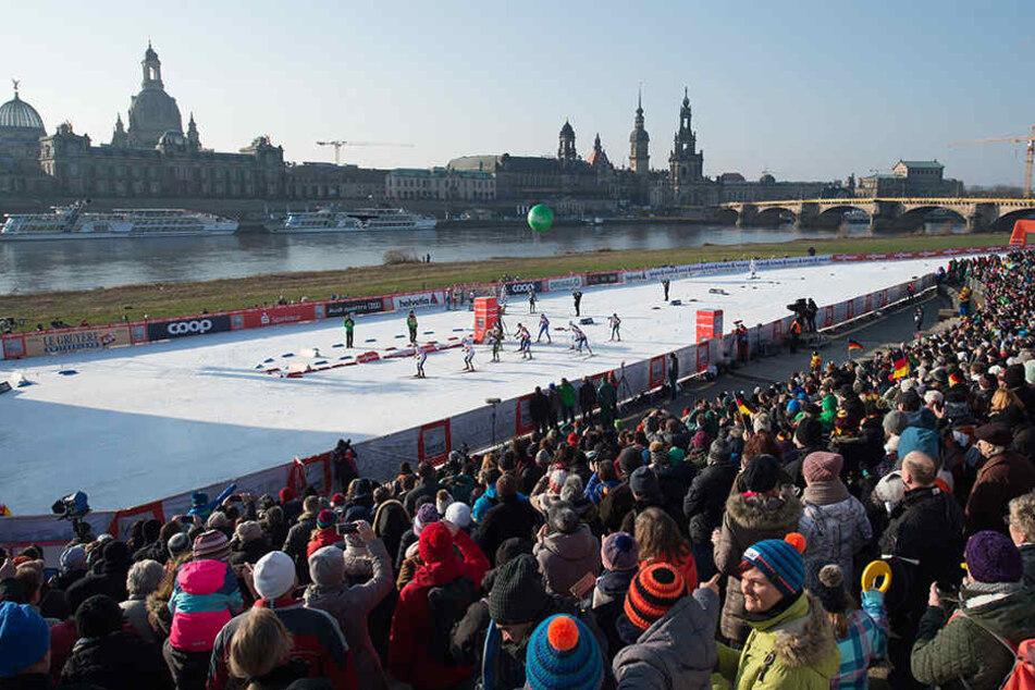 Anfang 2019 trifft sich die Langlauf-Weltelite wieder in Dresden. Die Umleitung des Elberadwegs ist nun klar.