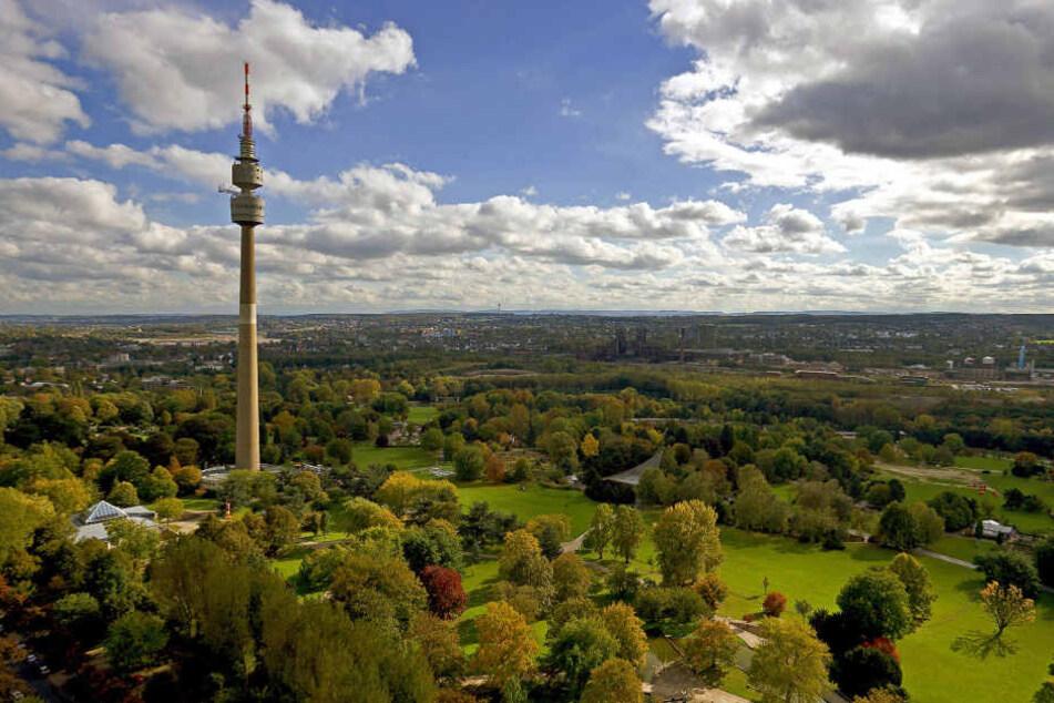 Der Florianturm im Dortmunder Westfalenpark. Er blickt auf 600.000 Einwohner hinab.