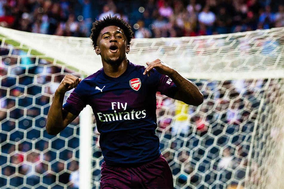 Durfte schon mehrfach für den FC Arsenal London jubeln: Mega-Talent Reiss Nelson.