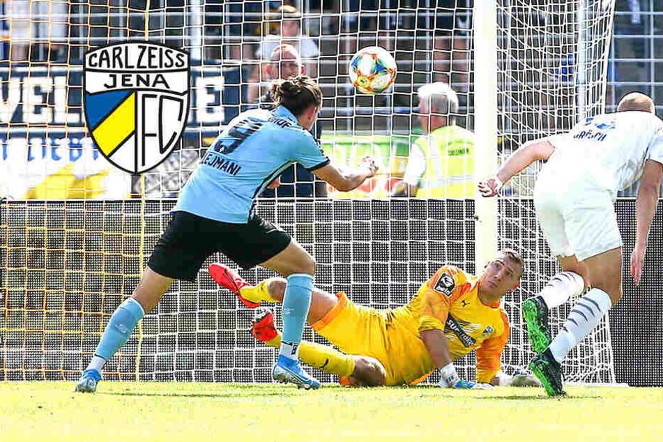 Heimpleite gegen Aufsteiger Mannheim: Jena weiter sieglos