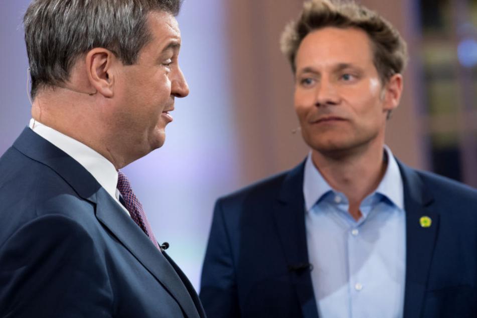 Eine Koalition aus CSU und Grünen? Für die Wähler in Bayern offenbar keine Option.