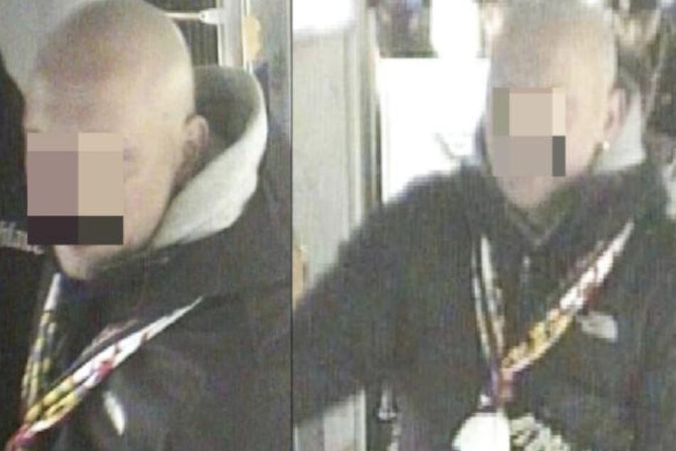 Mit Bildern der Überwachungskamera in der Tram wurde nach den Tätern gesucht.
