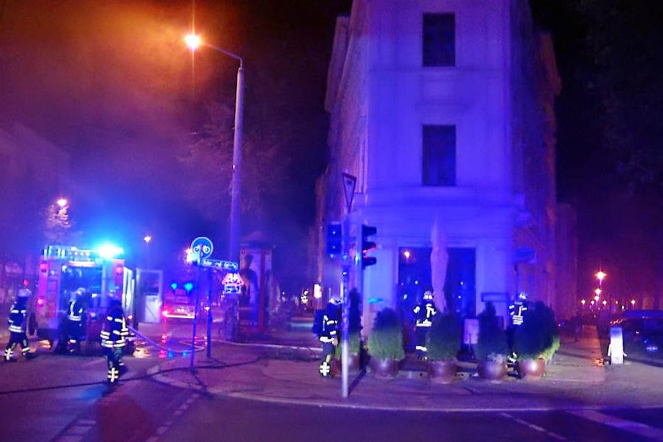 In dem Italiener im Eckhaus war am frühen Morgen ein Feuer ausgebrochen.