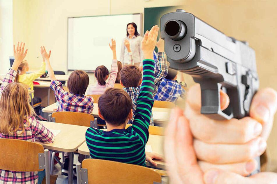 Auf mindestens zwei Schulen soll die 17-Jährige Angriffe geplant haben. (Symbolbild)