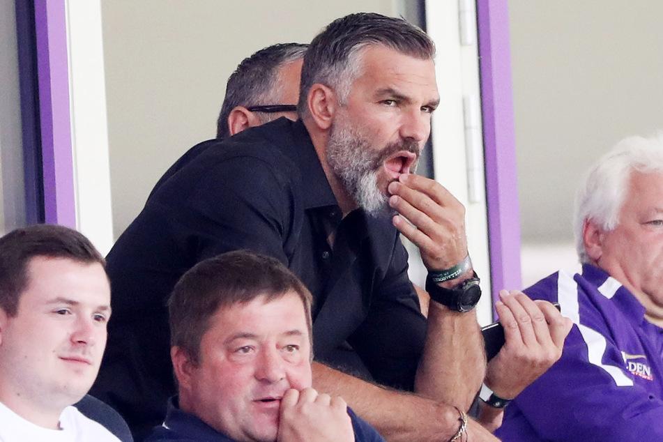 Sah das Spiel gegen Düsseldorf im Stadion und könnte sich eine Rückkehr vorstellen: Tommy Stipic (42). Aber Präsident Helge Leonhardt nicht.