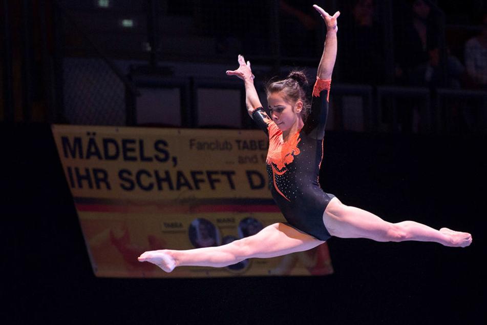 Pauline Schäfer sicherte sich mit 13,50 Punkten den Einzug ins Finale.