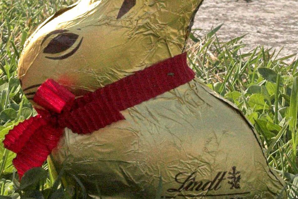An ihm entzündete sich anscheinend der Streit: Der Schokoladenhase von Lindt ist bei den Deutschen überaus beliebt (Archivbild).