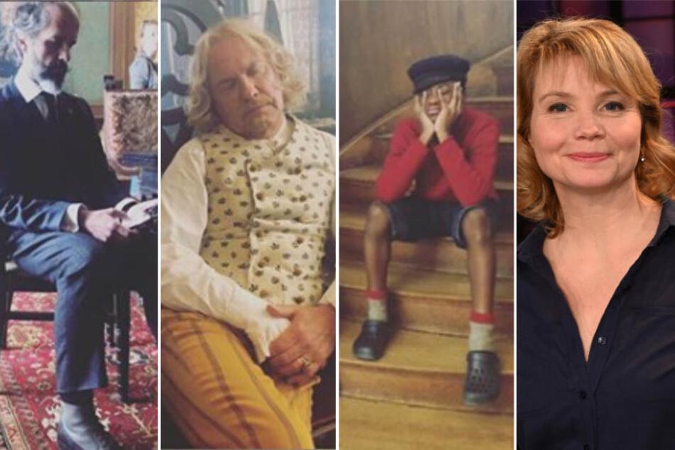 """Schnarch! Annette Frier postet pennende Stars beim """"Jim Knopf""""-Dreh"""