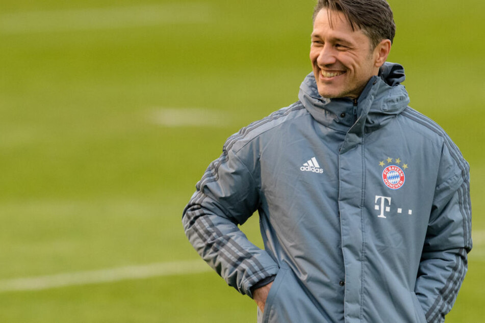 Bayern-Coach Niko Kovac sieht durchaus Chancen für das Weiterkommen der Eintracht.