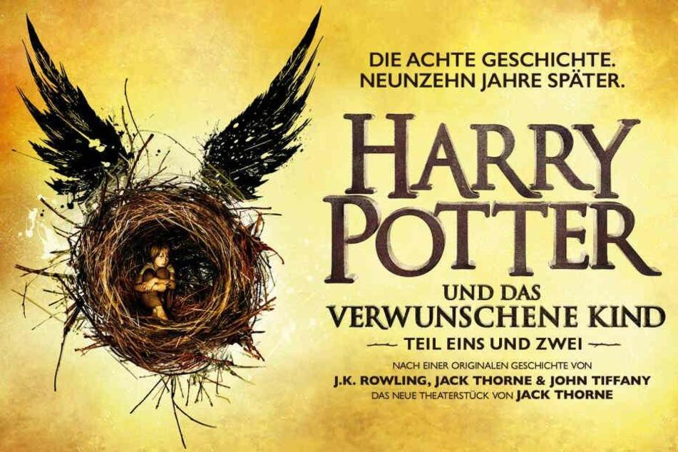 """""""Harry Potter und das verwunschene Kind """"ist eine Produktion von Sonia Friedman Productions, Colin Callender und Harry Potter Theatrical Productions."""