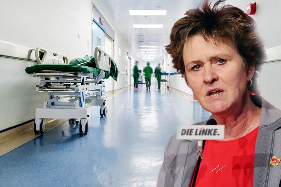 Die sinkende Anzahl von Krankenhäusern ist ein großes Risiko, findet Sabine Zimmermann (Linke).