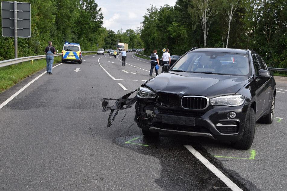 Der Fahrer des BMW-Wagens übersah den Biker.