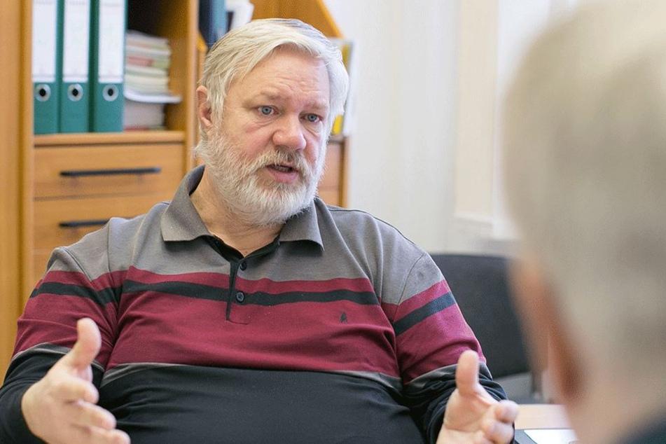 Stadtverband-Chef Frank Hoffmann (57).