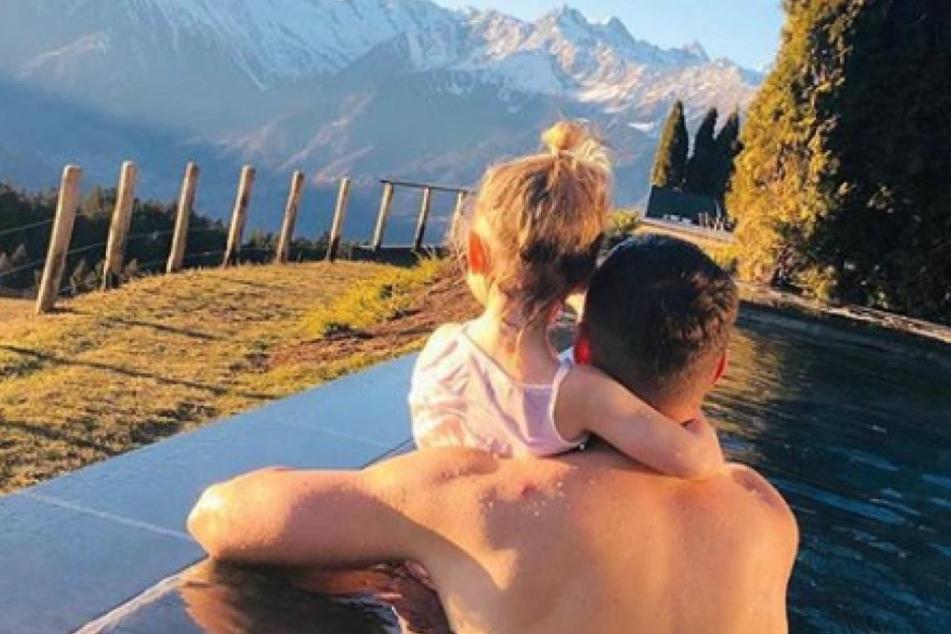Lukas Podolski hat insgesamt zwei Kinder.