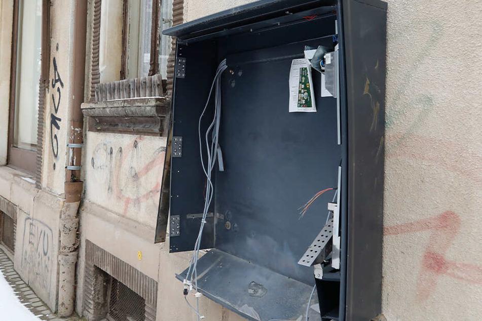Immer wieder werden Zigarettenautomaten aufgebrochen oder gesprengt. (Symbolbild)