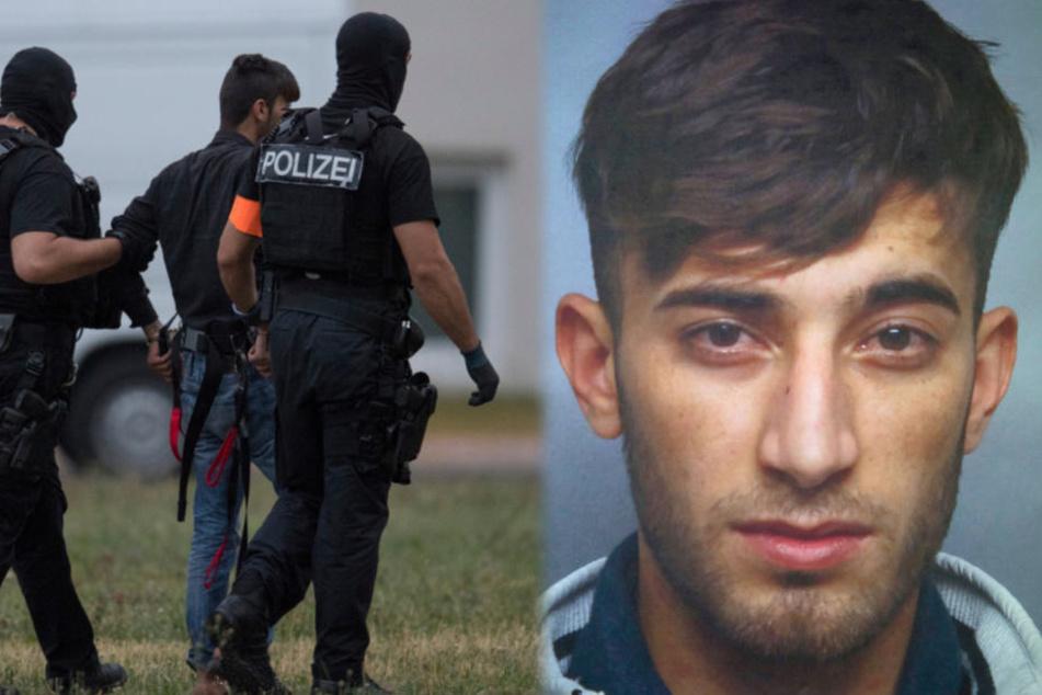 Direkt nach seiner gestrigen Ankunft wurde der 20-Jährige verhört.