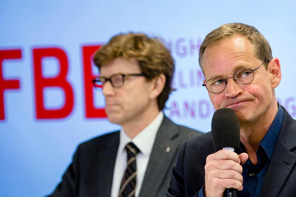 Unterstützung gibt es von Bürgermeister Michael Müller.
