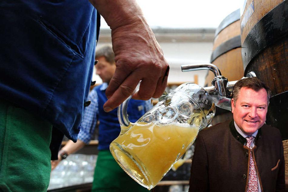 Will die Bierpreise auf dem Oktoberfest deckeln: Münchens zweiter Bürgermeister Josef Schmid.