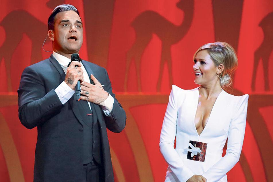 Tausende Helene-Fischer-Fans können nicht irren! Deutschlands erfolgreichste Sängerin zieht sogar Robbie Williams (45) in ihren Bann.