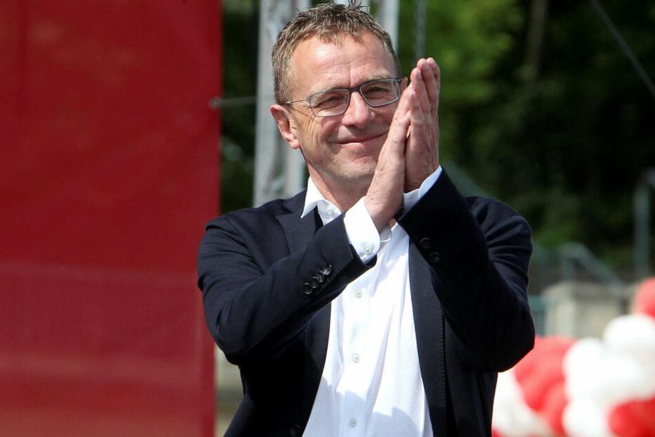 Ralf Rangnick (61) ist seit Sommer für den gesamten Red-Bull-Konzern tätig. Sein Vertrag läuft bis 2021.