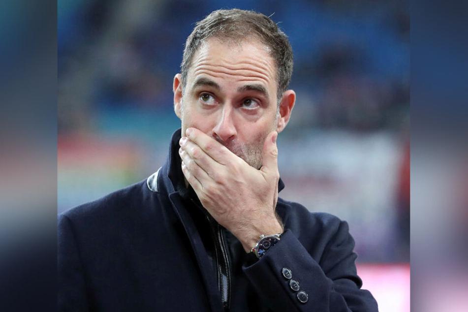Darf sich über fast 1,4 Millionen Euro Gewinn freuen, muss an Gläubiger aber noch 164,4 Millionen Euro zahlen: RB Leipzigs Geschäftsführer Oliver Mintzlaff (43).
