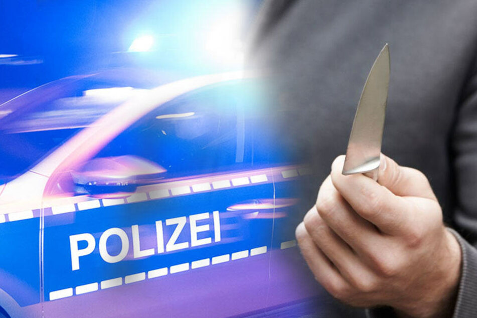 Männer stechen mit Messer auf 22-Jährigen ein: Schwer verletzt