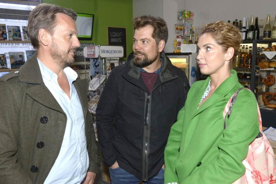 Nina hat die Qual der Wahl: Wird sie sich für Robert (l.) oder Leon entscheiden?