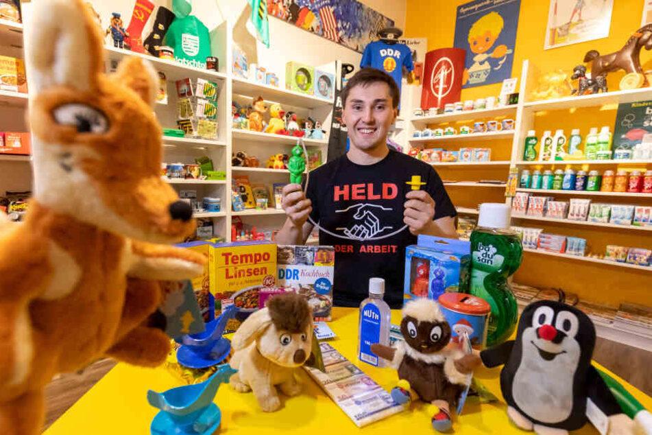 Ostalgie-Laden im Erzgebirge: Ost-Produkte sind richtig beliebt