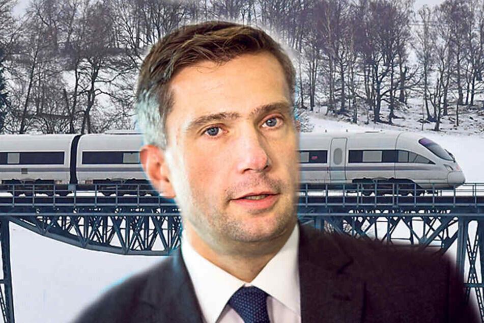 Teststrecke durchs Erzgebirge: Bahnfahren der Zukunft