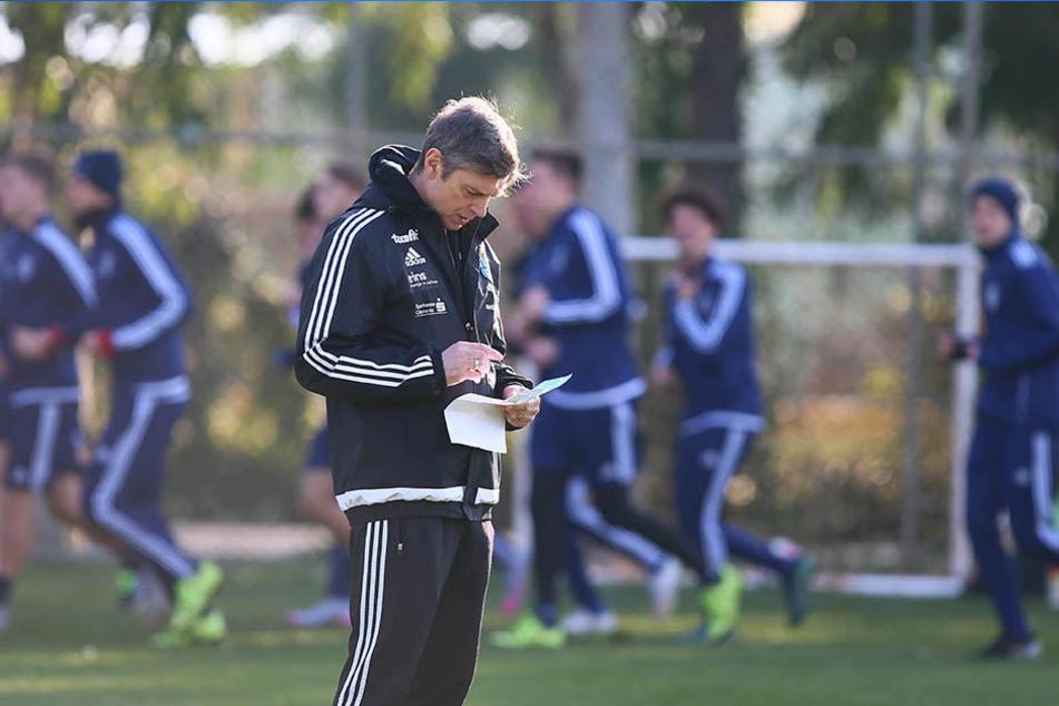 Im Januar weilte der CFC zehn Tage lang in Belek. Sportlichen Erfolg brachte das Türkei-Camp nicht. Trainer Karsten Heine wurde Anfang März entlassen.