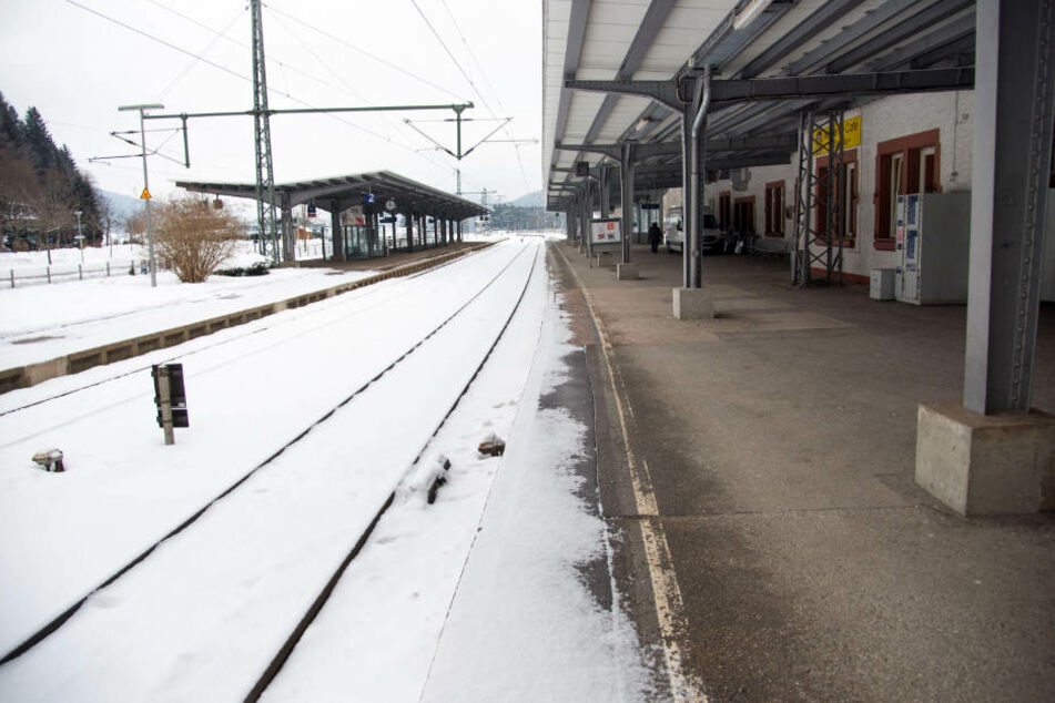 Der Bahnhof Titisee. So schnell fahren hier keine Züge mehr durch.