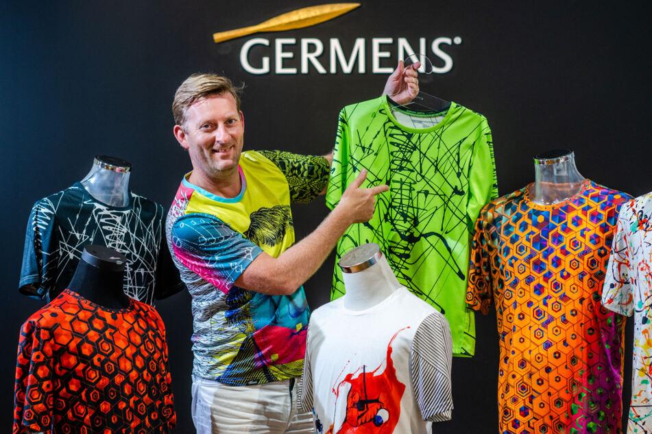 Germens-Inhaber René König (48) lässt jetzt T-Shirts produzieren.