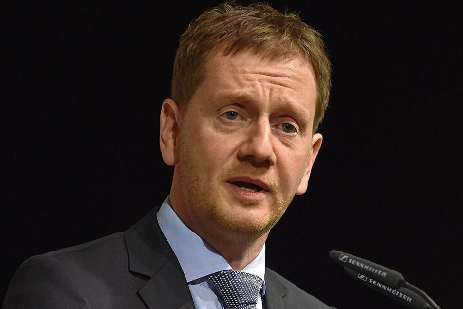 Der neue Ministerpräsident Michael Kretschmer will seine Minister am Montag vorstellen.