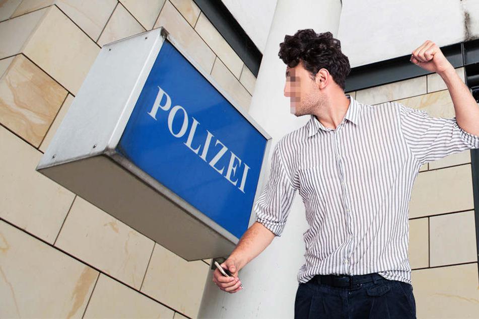 Erst durch die Öffentlichkeitsfahndung mit einem Lichtbild stellte sich ein 21-jähriger Bielefelder der Polizei. (Symbolbild)