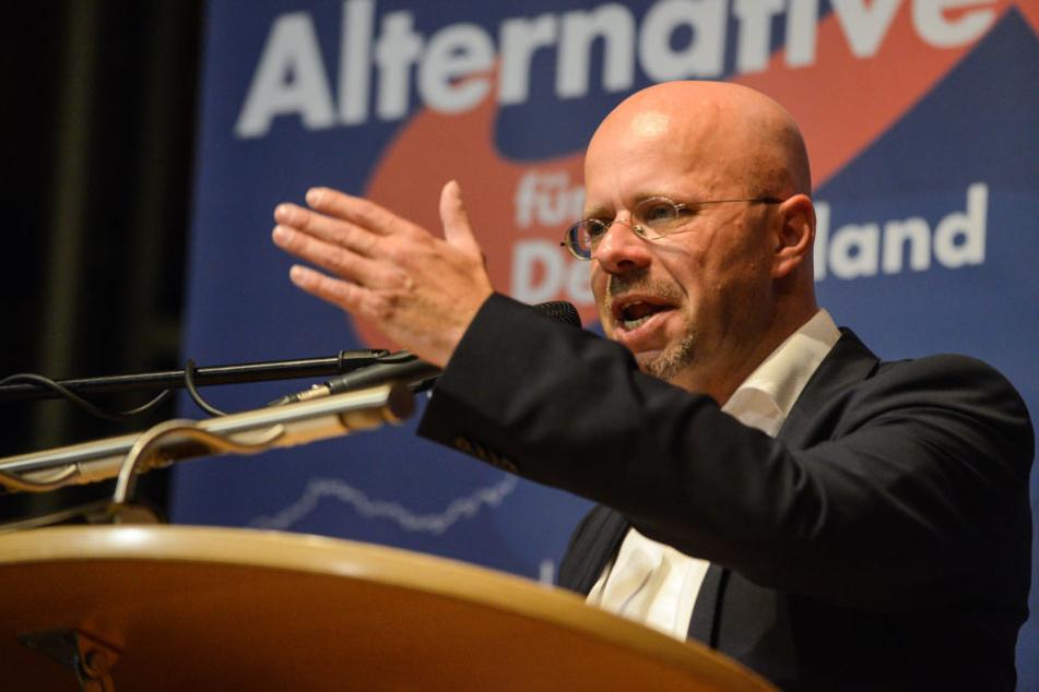 Andreas Kalbitz ist Landes- und Fraktionschef der AfD in Brandenburg.