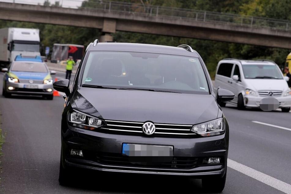 Der zweite Unfallwagen war ein VW.