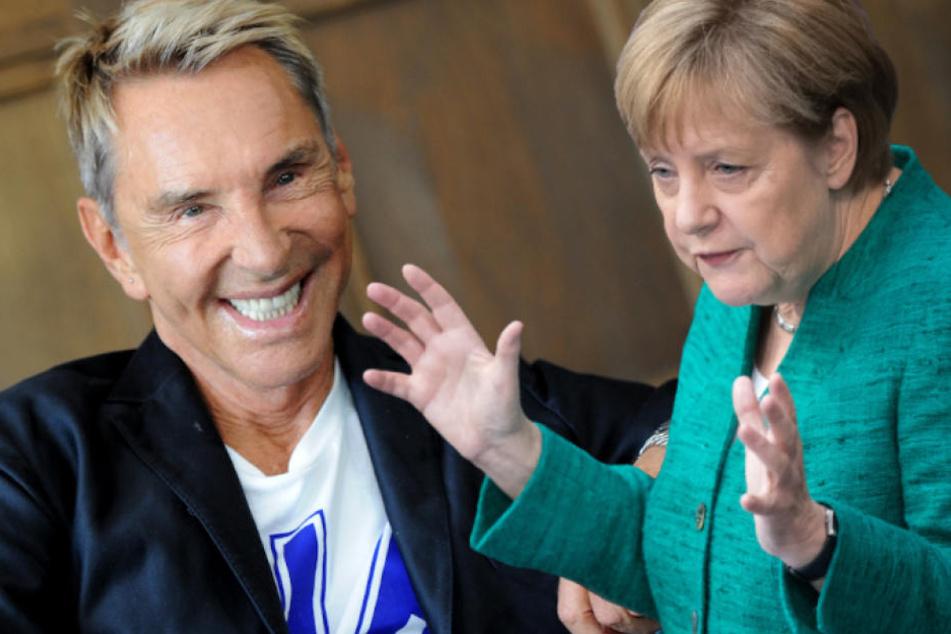 """Mode-Guru Wolfgang Joop: """"Merkels Kleidung passt perfekt zu ihrer Politik!"""""""