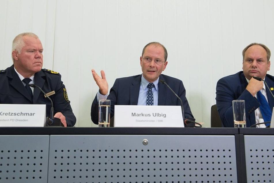 Auf der Pressekonferenz am Dienstag wurden die Einzelheiten des Sicherheitskonzeptes mitgeteilt.