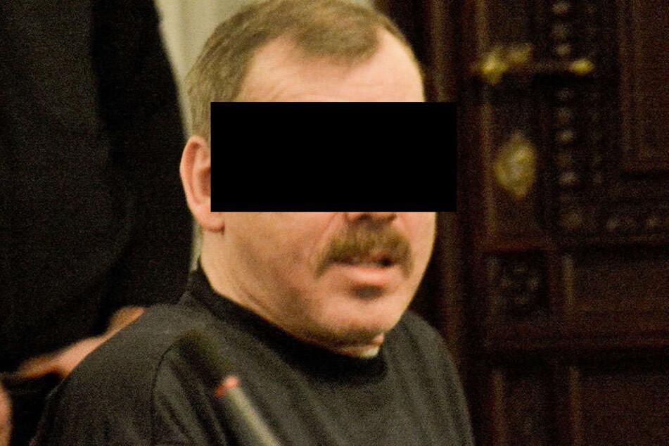 Helmut S. (61) scheint wieder fit zu sein - er wurde aus dem Haftkrankenhaus  in den normalen Knast verlegt.