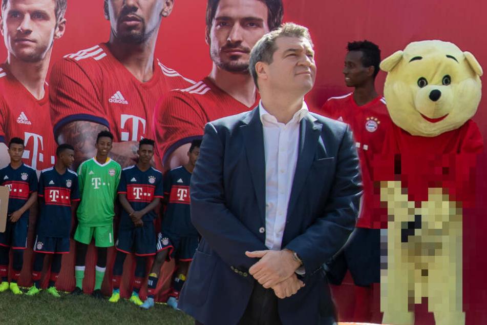 Deshalb lacht das Netz so richtig über angebliches Maskottchen des FC Bayern