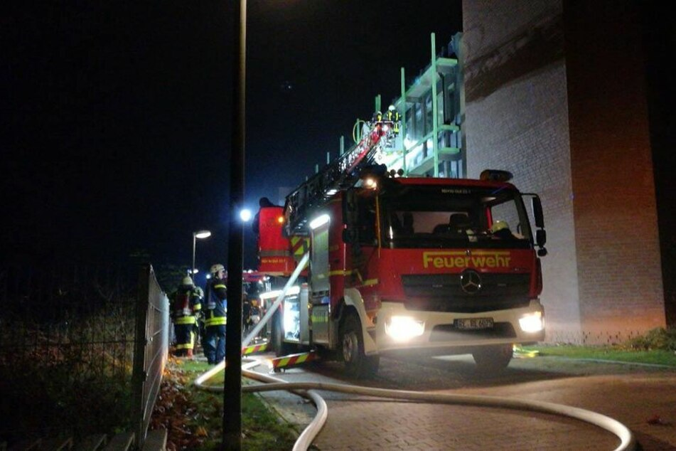 Schwerer Brand in Recklinghausen