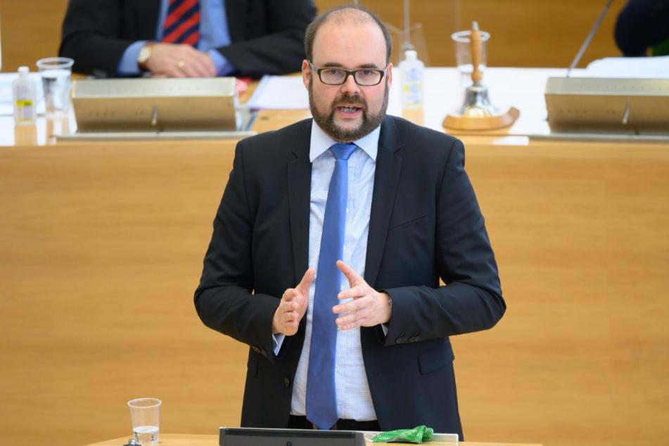 Der sächsische Kultusminister Christian Piwarz (45, CDU).